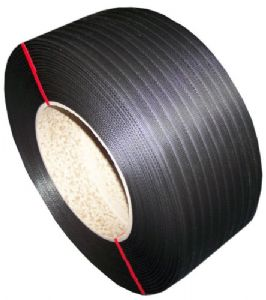 Black Hand Pallet Strapping On Cardboard Core